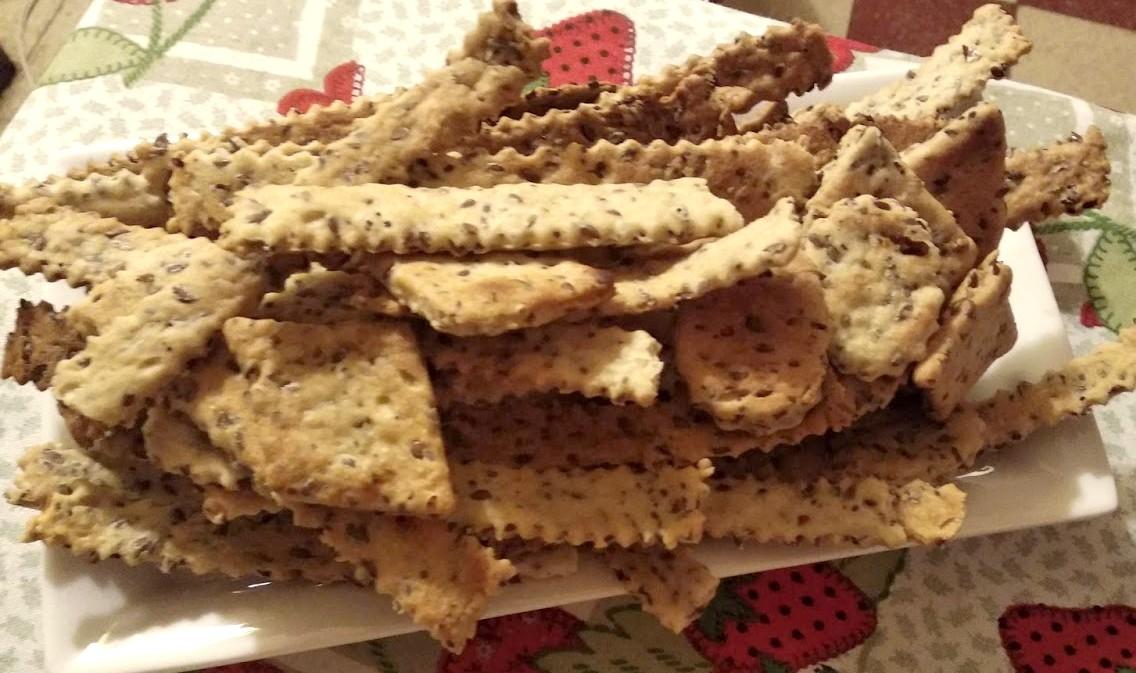 muchas galletas con semillas