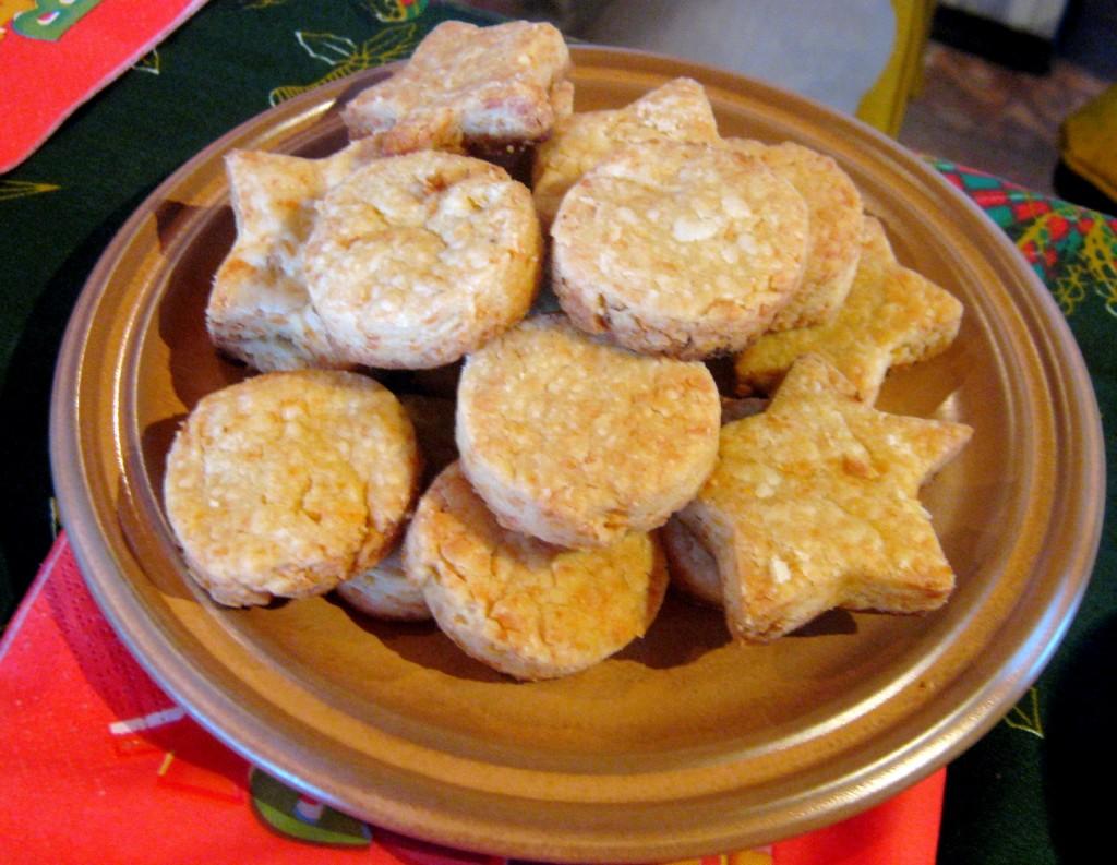galletitas de queso para copetin