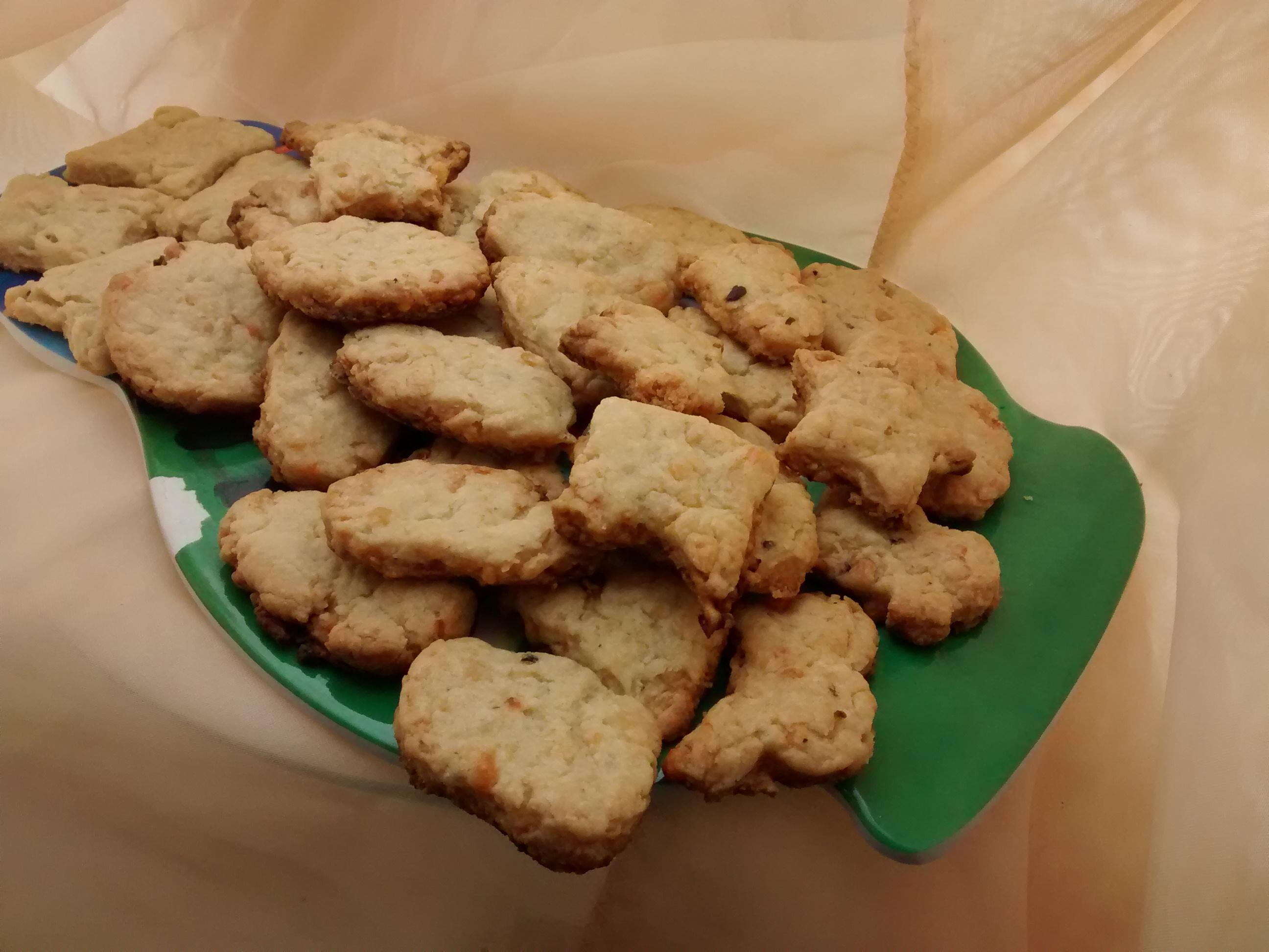 Deliciosas galletitas de queso para copetín