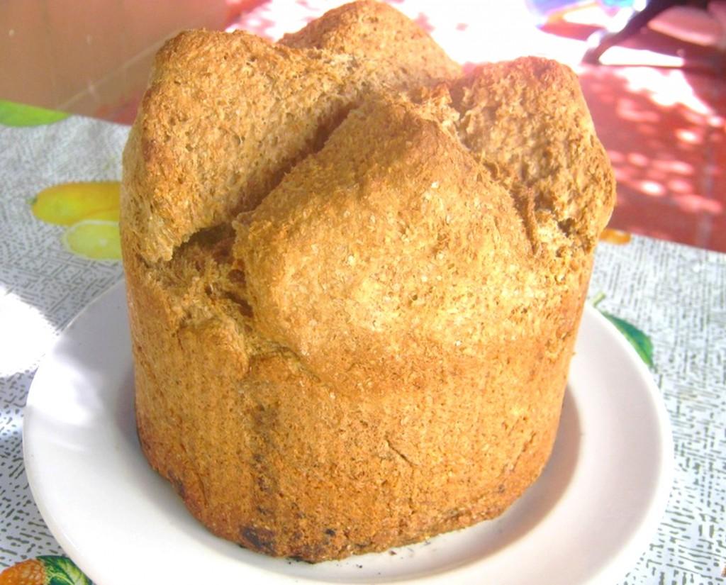 Pan con bicarbonato
