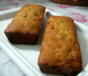 Pan casero rápido de coco y chocolate