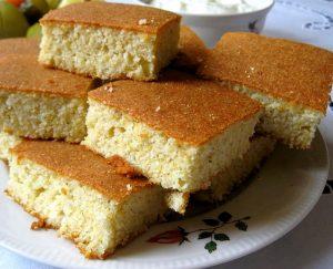 Pan de elote (granos de maíz, choclo)