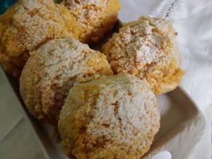 Tortitas de coco